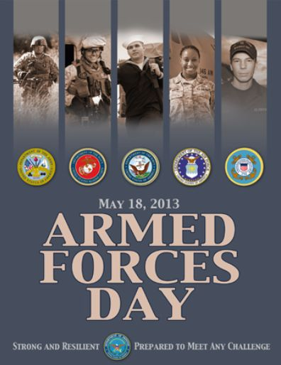 Armed Forces Day May 18, 2013