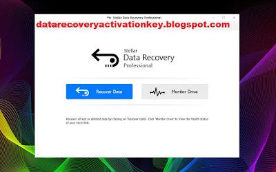 Stellar Data Recovery Activation Key Data Recovery Data Data Loss