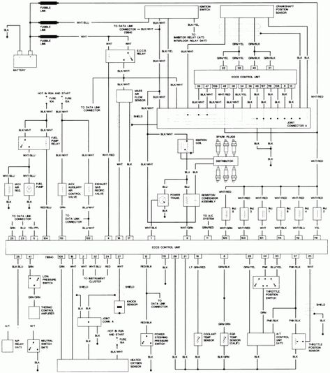 95 ford headlight wiring diagram 12 95 nissan truck wiring diagram truck diagram in 2020  12 95 nissan truck wiring diagram