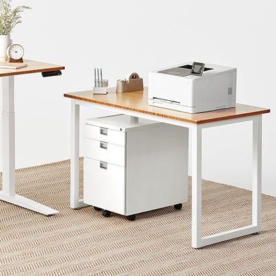 Jarvis L Shaped Standing Desk The Corner Desk Fully Desk Minimalist Computer Desk Standing Desk