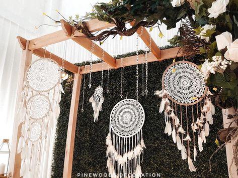 "pinewoods decoration 🌿 di instagram ""rustic aqiqah"