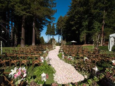 The Mountain Terrace Woodside California Wedding Venues 1