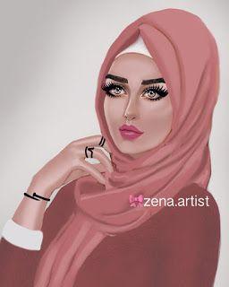 صور بنات محجبات صور بنات محجبات غاية في الجمال محجبات صور بنات ينات امراة حجاب اجمل صور Illustration Art Girl Instagram Art Girl Sketch