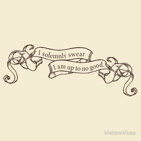 """""""I Solemnly Swear..."""" T-Shirts & Hoodies by MeteorMuse 