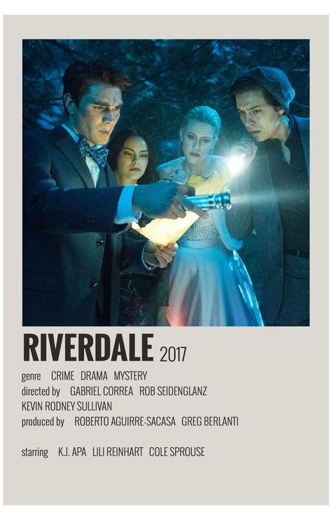 alternative movie posters riverdale