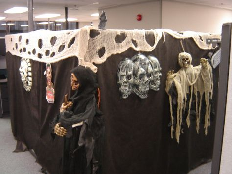 Image result for halloween office decorating ideas Fall Party - halloween decorations for the office