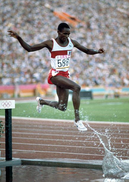 Kenyan Middle Distance Athlete Julius Korir Competes In The Men S In 2020 1984 Summer Olympics 1984 Olympics Olympic Hero