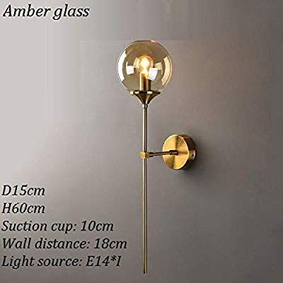 Modern Led Glass Wall Sconce Indoor Led Wall Lamp For Living Room