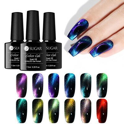 Ur Sugar 7 5ml 9d Magnetic Gel Polish Chameleon Purple Soak Off