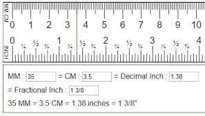 1 8 Inches On A Tape Measure Google Search Cm To Inches Conversion Ruler Measurements Metric Conversion Chart