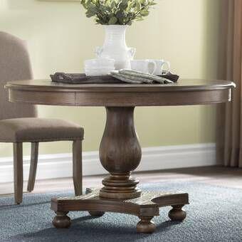 Laurel Foundry Modern Farmhouse Hoyt Solid Wood Dining Table