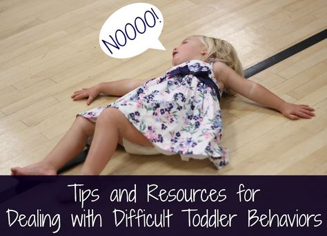 Tips and Resources for Dealing with Difficult Toddler Behaviors - Toddler Approved