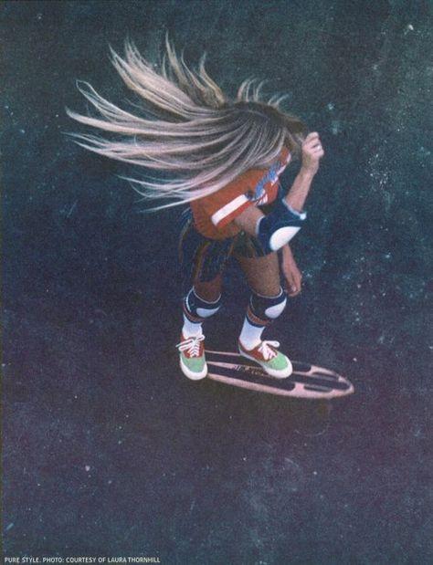 Skate to the beach...