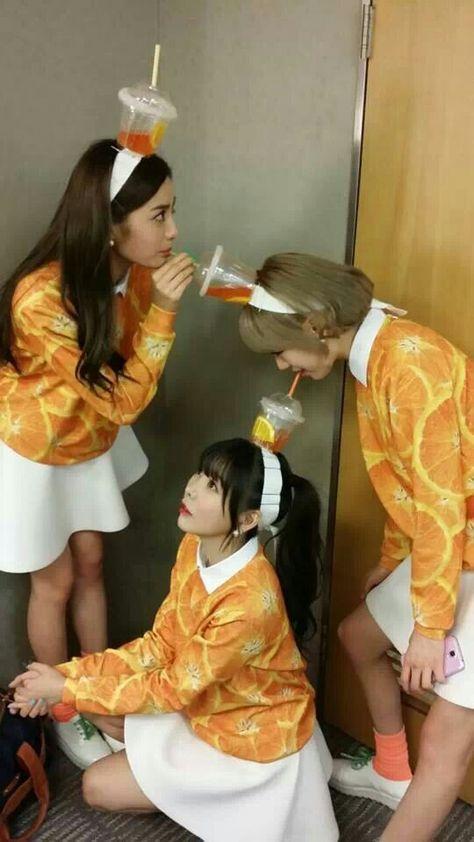 Orange Caramel…acting like Orange Caramel…