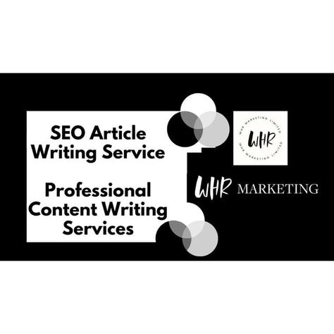 SEO Article Writing Service | Professional Content Writing Services