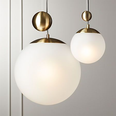 Weight Pulley Pendant Light Small Reviews Cb2 Pulley Pendant