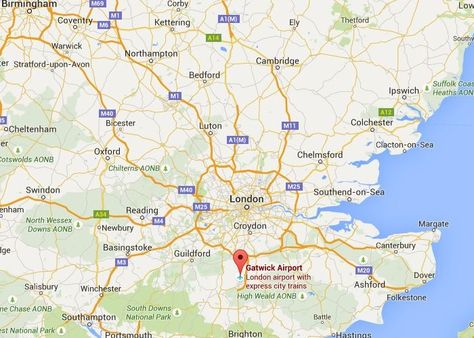 Map Of England Gatwick.London England Gatwick Airport Baggage Auctions Lgw