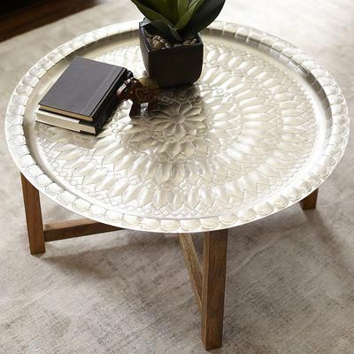 Moroccan Tray Coffee Table Avec Images Deco Marocaine Table Basse Marocaine