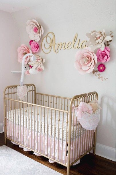 Baby Name Sign For Nursery Wall Letters Wooden