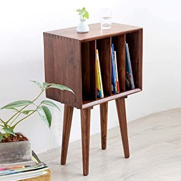 bedside table nightstands solid wood bookcase simple and versatile magazine cabinet stylish display children s desk sofa side in 2020 hotel room with 2 separate bedrooms