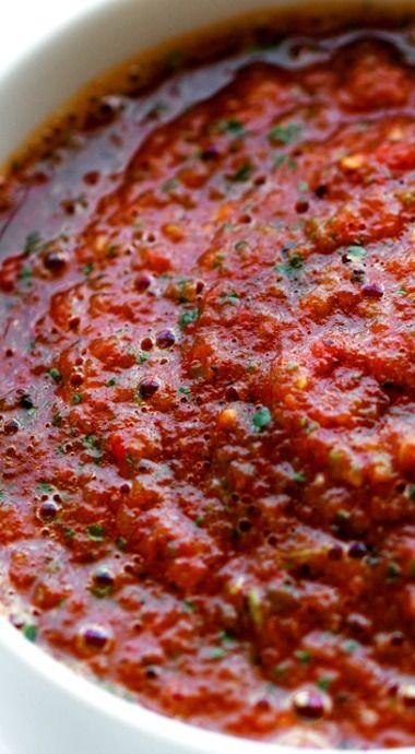 5 Minute Restaurant Style Blender Salsa