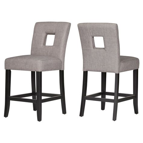 Cool Chelsea Lane Linen Keyhole Counter Height Dining Chair Set Ocoug Best Dining Table And Chair Ideas Images Ocougorg