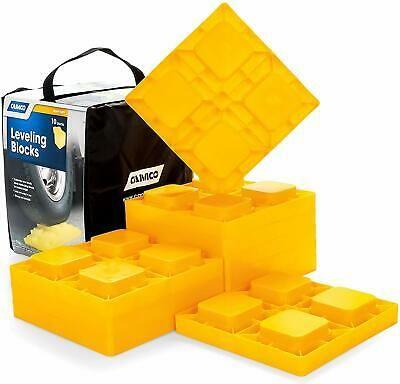 Sponsored Ebay 10 Pack Camco Rv Accessories Leveling Blocks Trailer Camper Parts Accessories Rv Leveling Blocks Camper Parts Rv Trailers