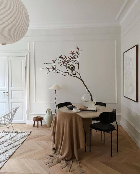 """Refined Interior Design on Instagram: """"A bright and beautiful setting to either start your day off or come to relax after a hard one. I love the little tree! Do you like this…"""""""