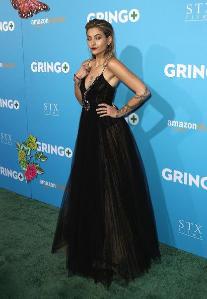 Actor Paris Jackson attends the world premiere of 'Gringo' from Amazon Studios and STX Films.