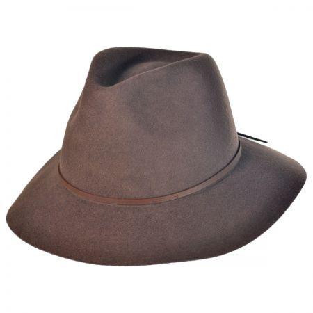 Brixton Hats Wesley Wide Brim Fedora Hat  0ccd1104c45