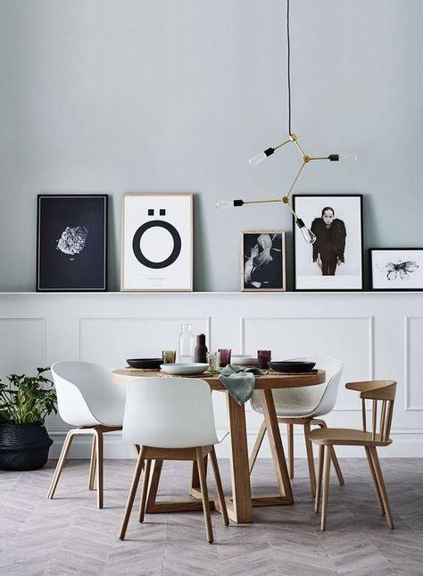 I quadri astratti e le stampe fotografiche per l'ufficio moderno. Boiserie Moderne 30 Soluzioni Per Arredare Casa Con Eleganza E Stile Sale Da Pranzo Casa Colonica Quadri Soggiorno Idea Di Decorazione