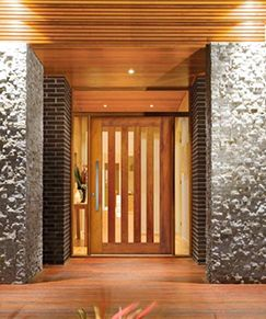 Front And Centre Corinthian Timber Front Door Custom Front Doors Glass Entrance Doors