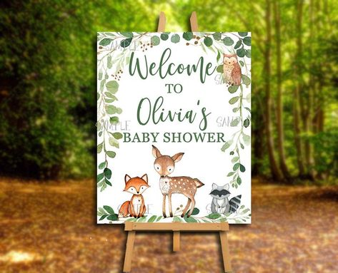 mushrooms and more including foxes A2 Envelope Set featuring sweet woodland animals in a cute tree filled forest owls hedgehogs