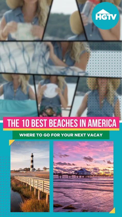 From East Coast to West Coast, from family beaches to surfer spots, these are the top beaches in America. 🏝