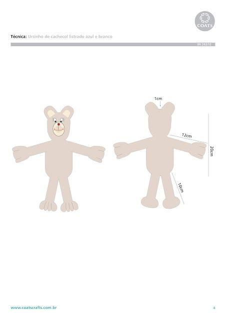 Balaio de crochê: Ursinho amigurumi | 640x452