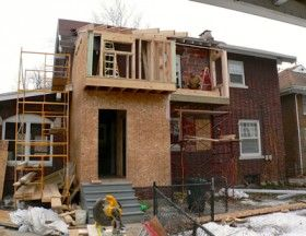 Framing Of Addition Bump Out Addition Bathroom Second Floor Second Story Addition Home Additions Second Story