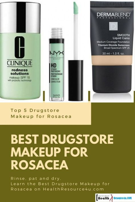 Best Drugstore Makeup For Rosacea Top 5 Reviews And Buying Guide Rosacea Makeup Best Drugstore Makeup Cheap Skin Care Products