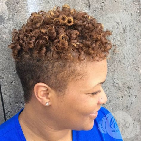 40 Cute Tapered Natural Hairstyles For Afro Hair In 2020 Tapered