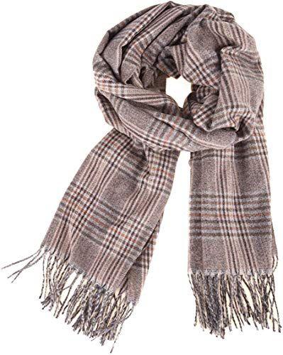 New Women Wool Long Warm Scarves Soft Tassel Wrap Scarf Winter Warm Shawl