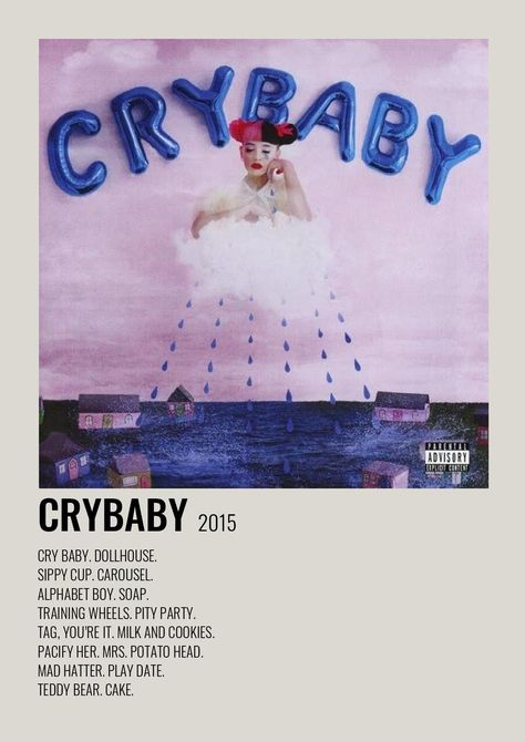 Crybaby Music Poster