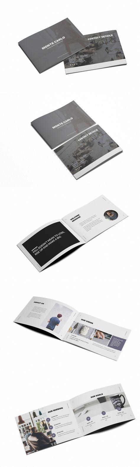 Monte Carlo Creative A5 Brochure