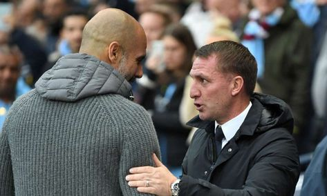 Brendan Rodgers could replace Guardiola at Manchester City