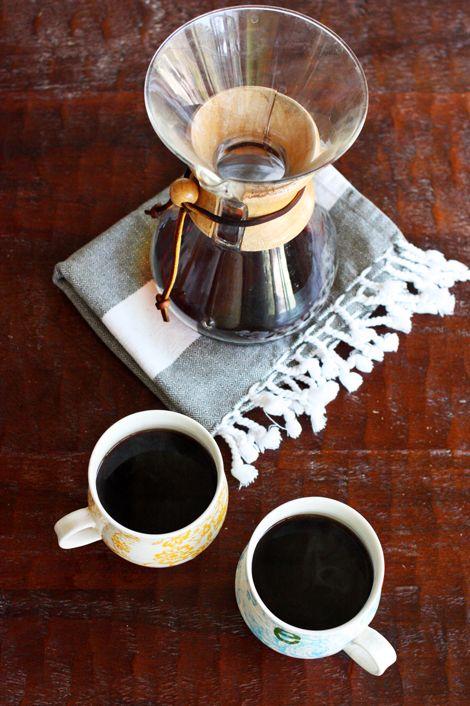chemex coffee process
