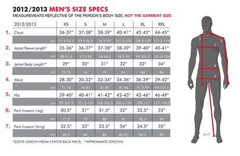 Men S Clothing Size Chart 686 Snowboard Clothing Size Chart Women Mens Pants Size Chart Clothing Size Chart Snowboarding Outfit
