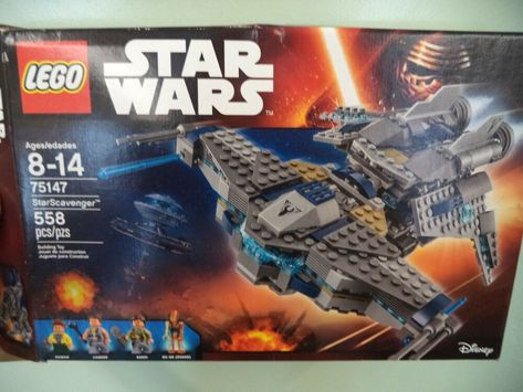 LEGO Star Wars StarScavenger 75147 by