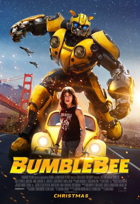 Transformers Bumblebee Movie Poster Print c - Various Size's