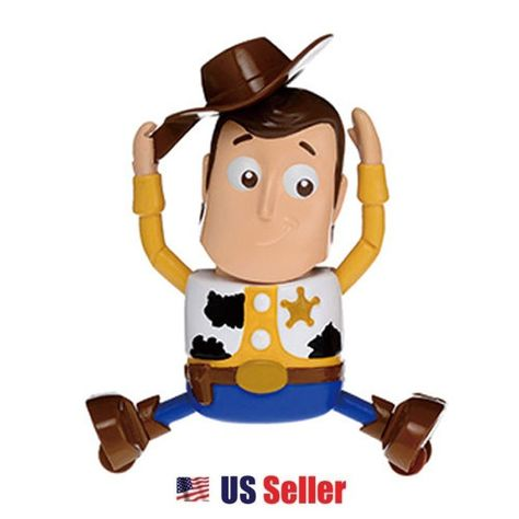 Disney Pixar Toy Story Wind Up Woody FIGURINE FIGURE NEW