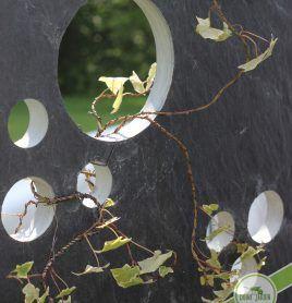 Ardoise Bulles Idee Deco Jardin Ardoise Jardin Contemporain