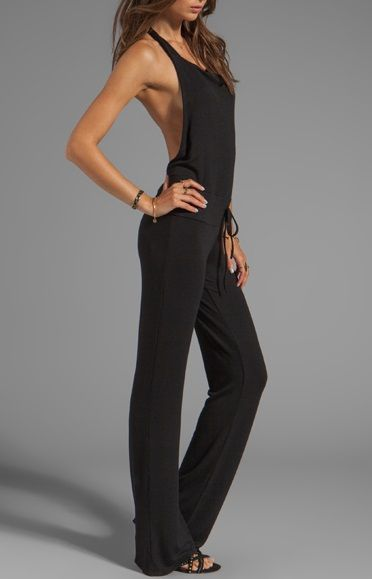 loose fitting jumpsuit - if anyone knows who this is by or where it can be found, pls include a comment!