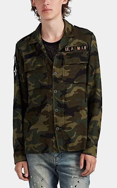 Amiri Men's Appliquéd Camouflage Cotton   Products in 2019